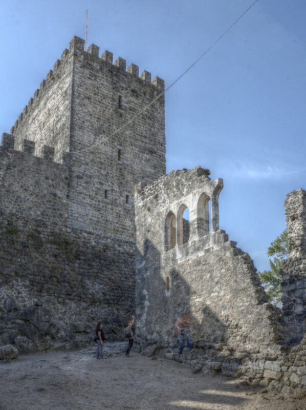 Замок Лейрия. HDR
