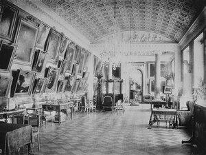 Дворец Строгановых на Невском проспекте. Картинная галерея. 1868