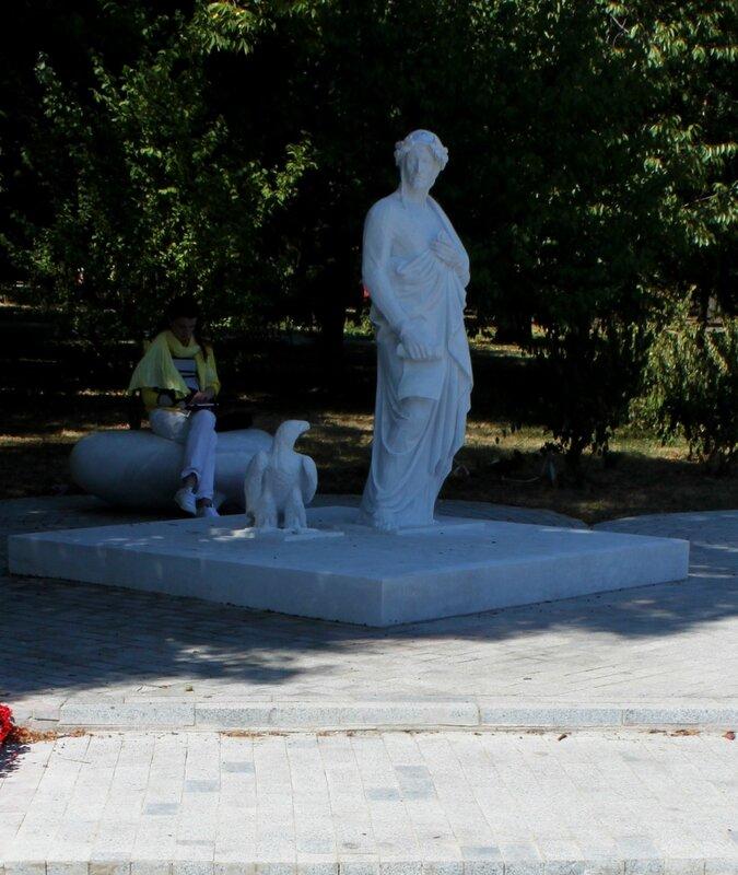 парковая скульптура владимирская горка киев