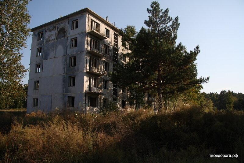 Заброшенный военный городок Орловка