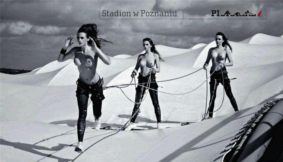 Playboy Poland october 2011 - Check Stadium by Szymon Brodziak