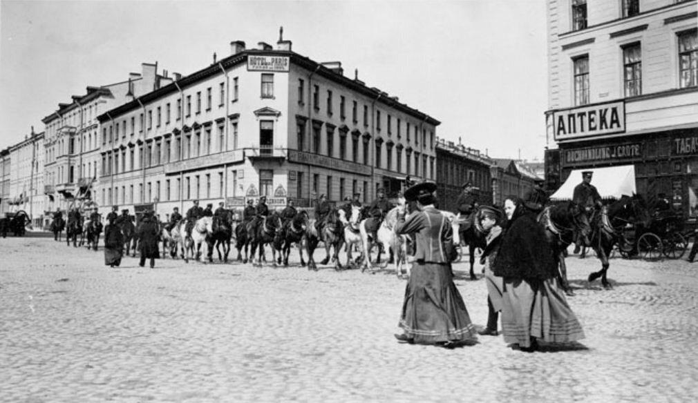 Москва 1909 года