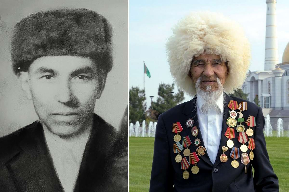 15 героев Великой Отечественной Войны из 15 республик Советского Союза - Гуванч Миратлиев, уроженец Туркмении, 89 лет