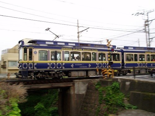 Enoshima Electric Railway ( 江ノ島電鉄).
