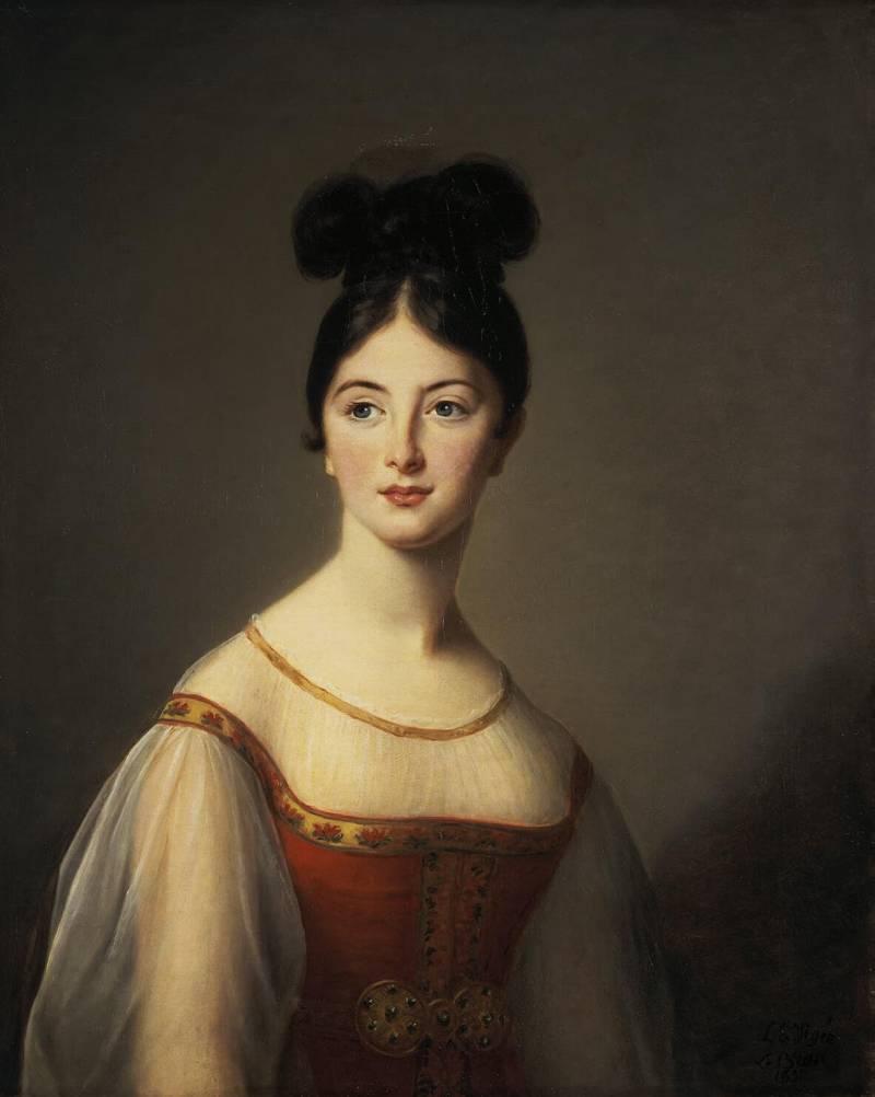 Виже-Лебрен, Элизабет-Луиз — Женский портрет, Эрмитаж