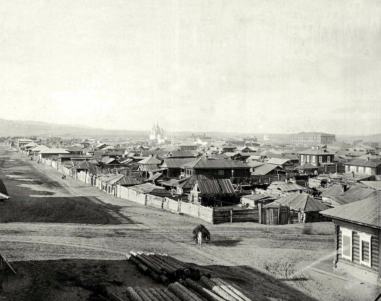 Перекресток ул. Песочная и Гимназического переулка