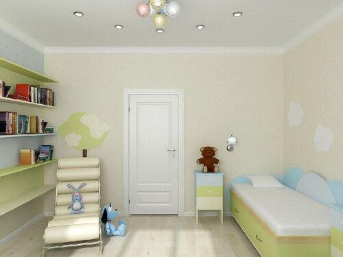 дизайн детской комнаты фотографии.