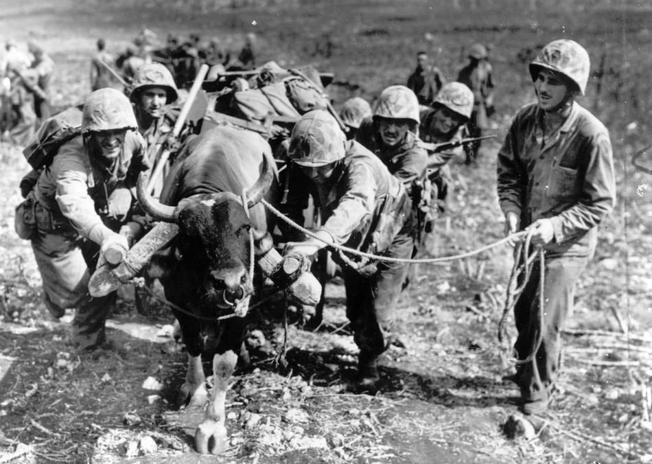 WWII U.S. INVASION MARIANAS