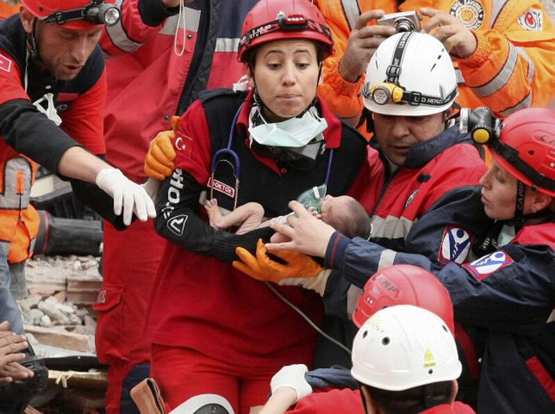 Землетрясение в Турции (The Turkey earthquake), провинция Ван, 23 октября 2011 года