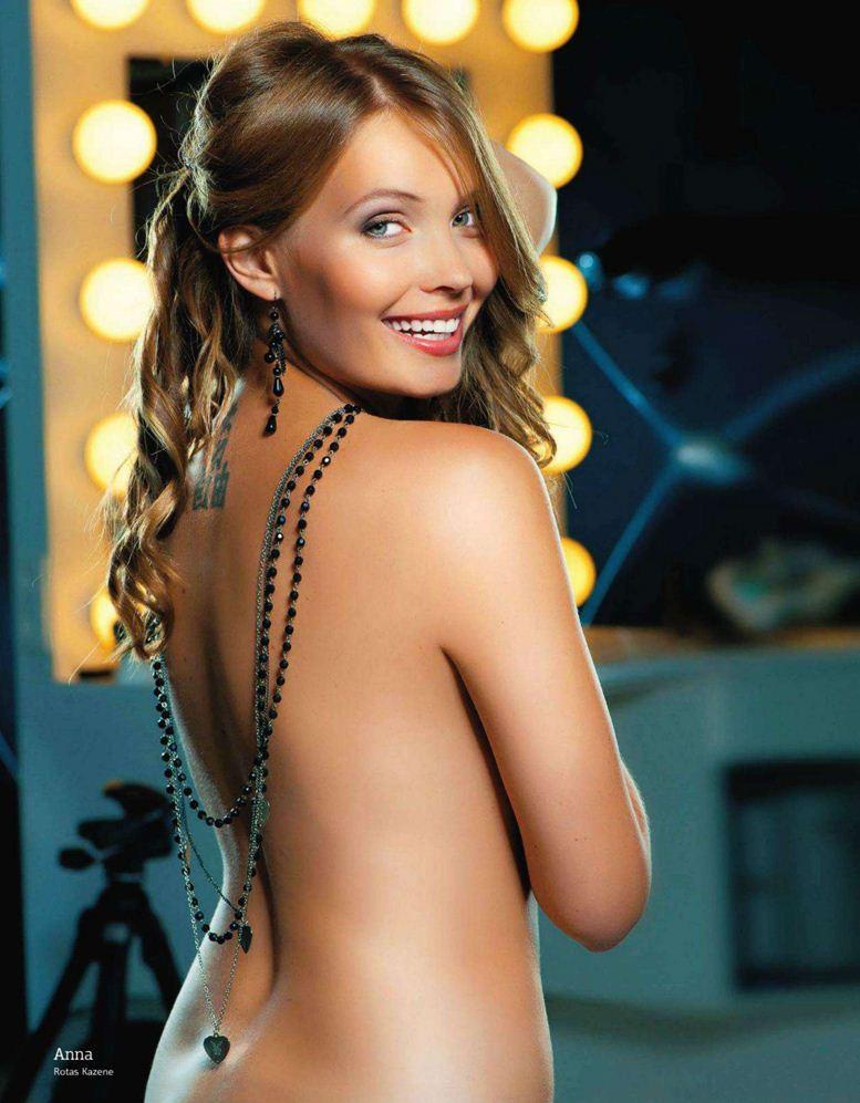 1-я годовщина журнала Playboy Латвия, октябрь 2011 - Анна