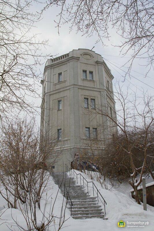 Водонапорная башня в Екатеринбурге