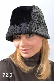 Стильные женские шапки и шляпы из каракуля Коллекции головных уборов...