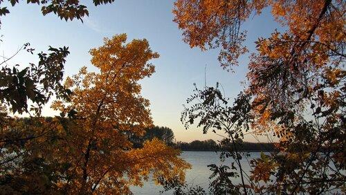 Золотая осень в Астрахани