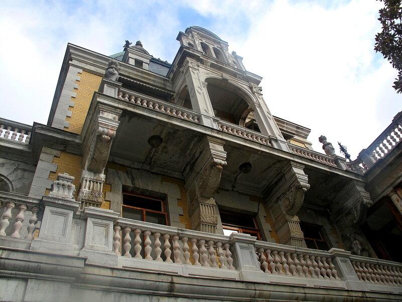 Крым,Массандра,дворец Александра III