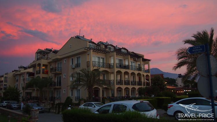 закат в Фетхие