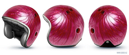 Bowling Ball Helmet