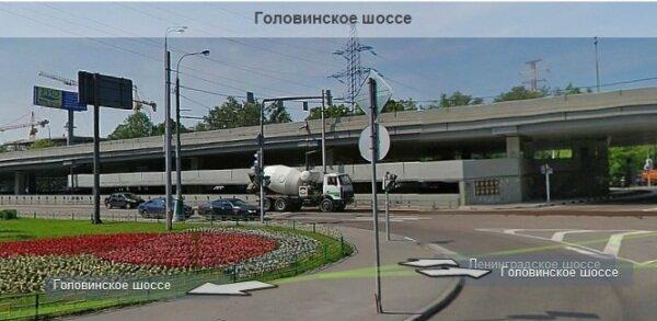 Подэстакадная парковка на Головинском ш