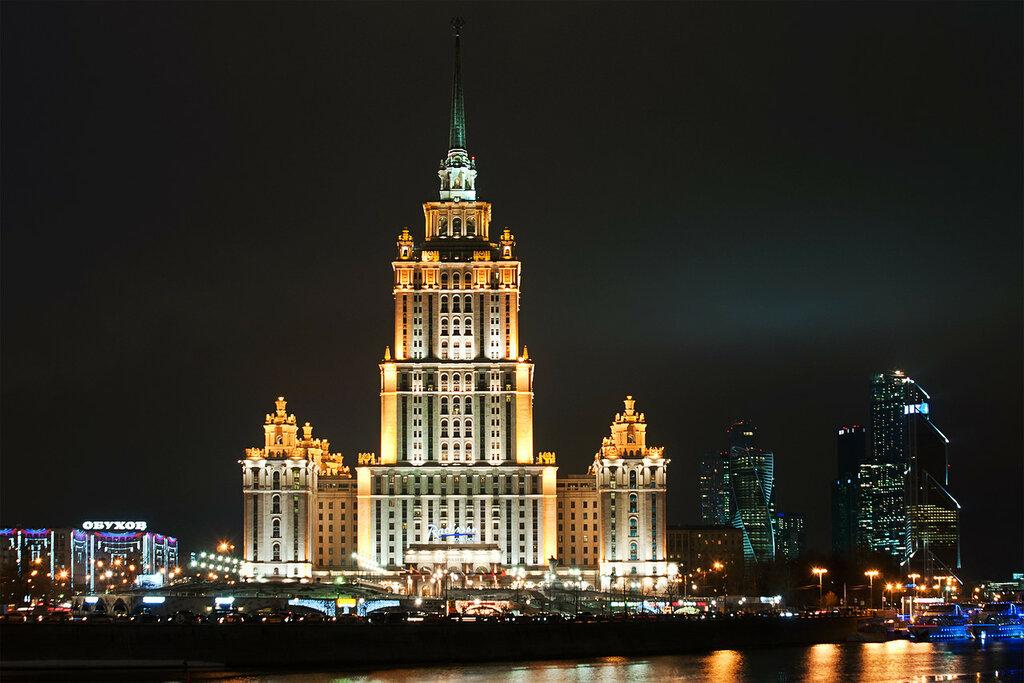 Ночные московские набережные