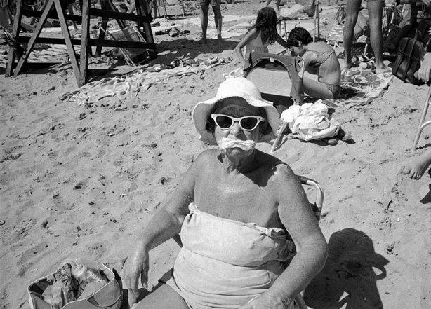 Coney Island, NYC, 1982. © Bruce Gilde