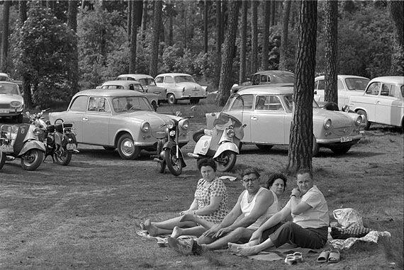 Max Scheler.Пикник.Восточный Берлин, 1963
