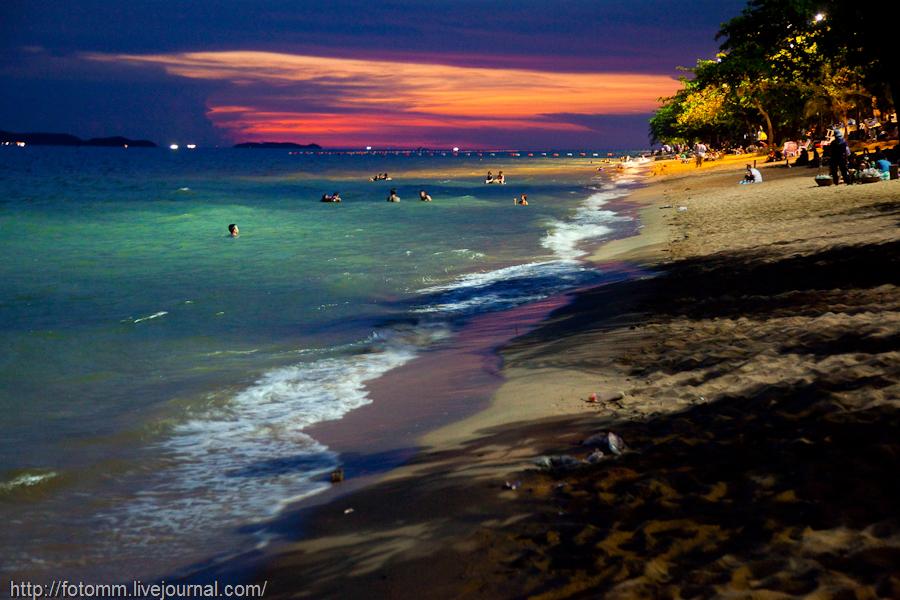 Сексуальный вечер на берегу моря видео