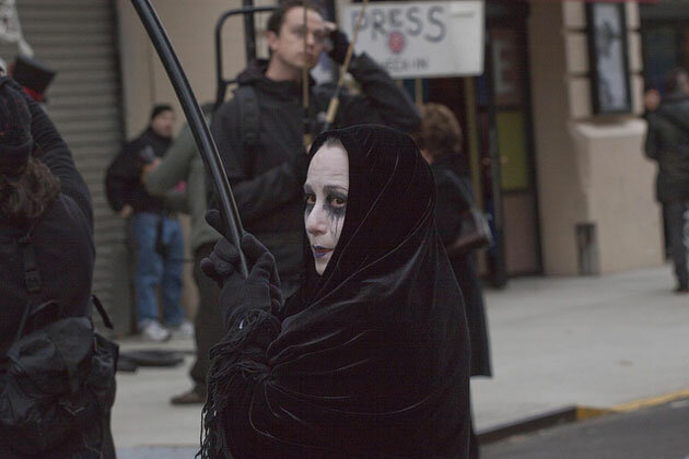 Парад в честь Хэллоуина в Нью-Йорке 2011
