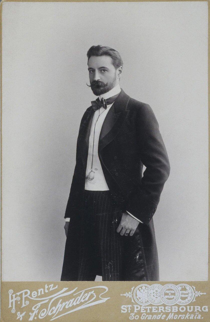 Портрет Сергея Михайловича Волконского. 1899