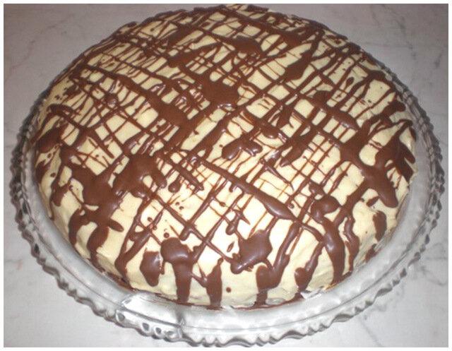 пирог белоснежка