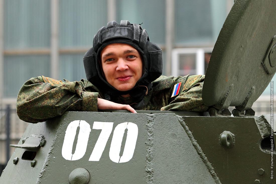 танкист танк Т-60