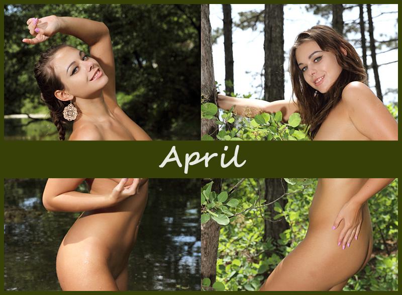 Украинская модель April
