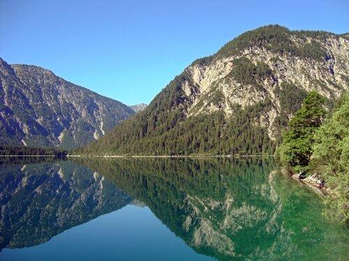 Озеро Plansee