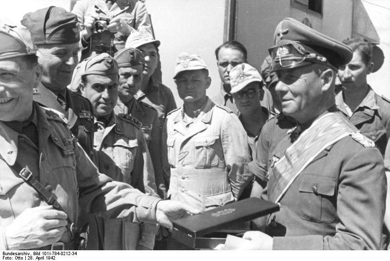 Nordafrika, Rommel, Ordensverleihung