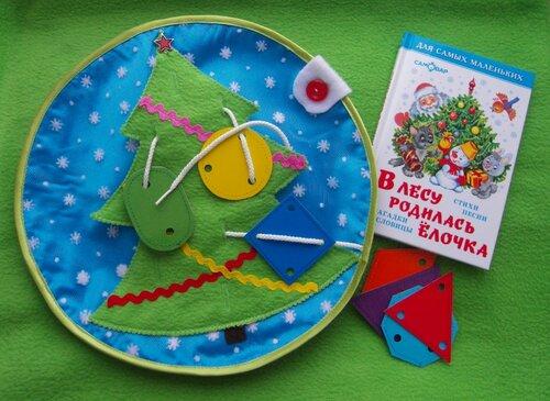 Веселые новогодние конкурсы... хенд мейд игрушки!