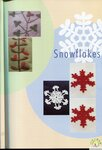 Crochet Motif Applique (Flowers, Leaves and Snowflakes )