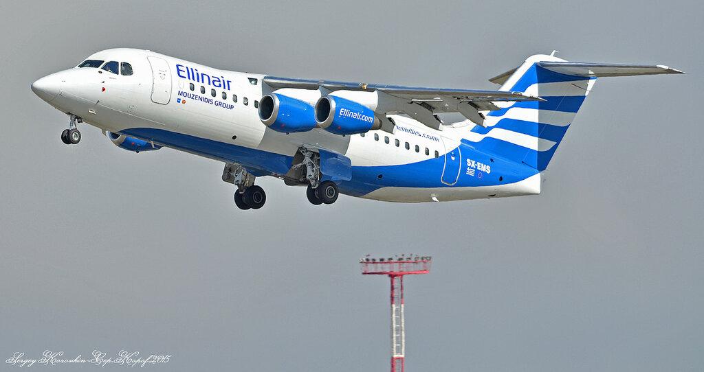 Ellinair Avro RJ85 SX-EMS