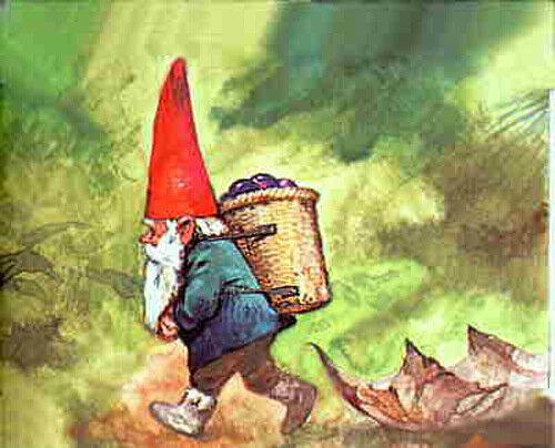 Гномы - частые герои западноевропейских сказок и легенд, где