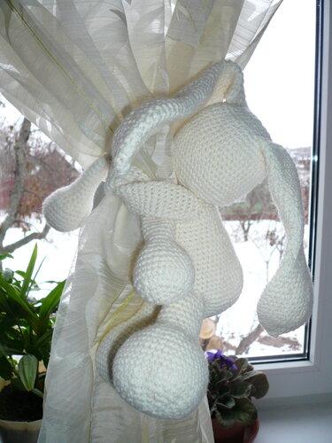 Схему вязания зайца как всегда