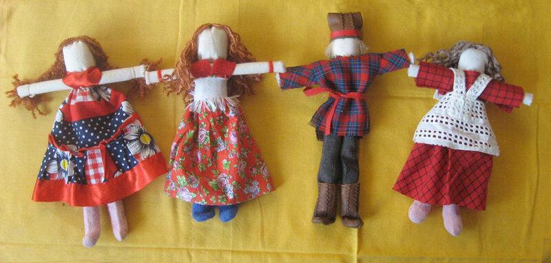 Как сделать игровую куклу своими руками