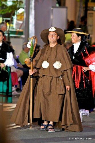 костюм монаха, аликанте