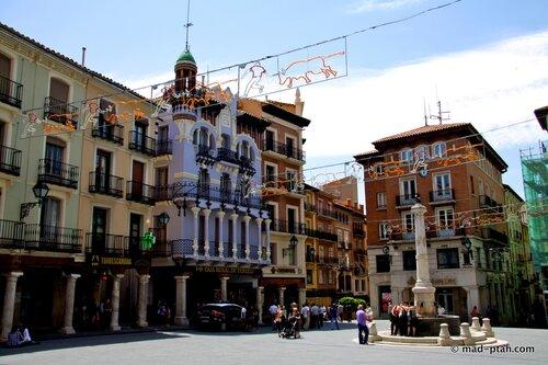 плаза дель Торико, теруэль, испания