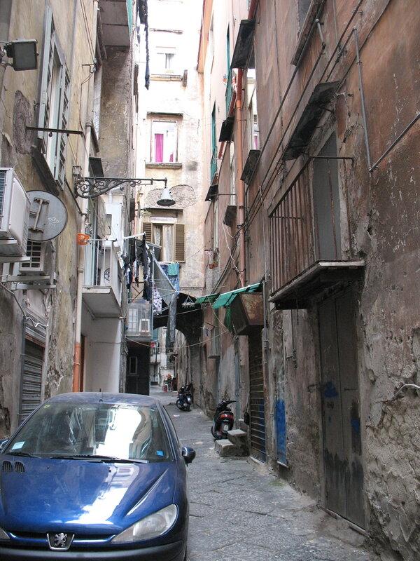 Неаполь - испанский квартал