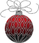 Christmas_Red_and_Silver_Ornament_Clipart.png