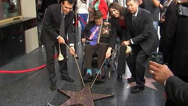 Режиссер Бернардо Бертолуччи удостоился звезды дважды!