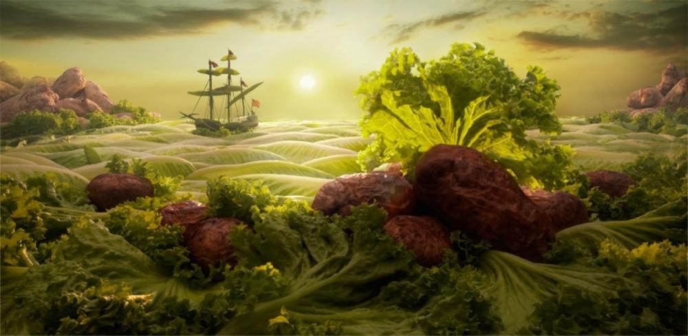 8. Море салата