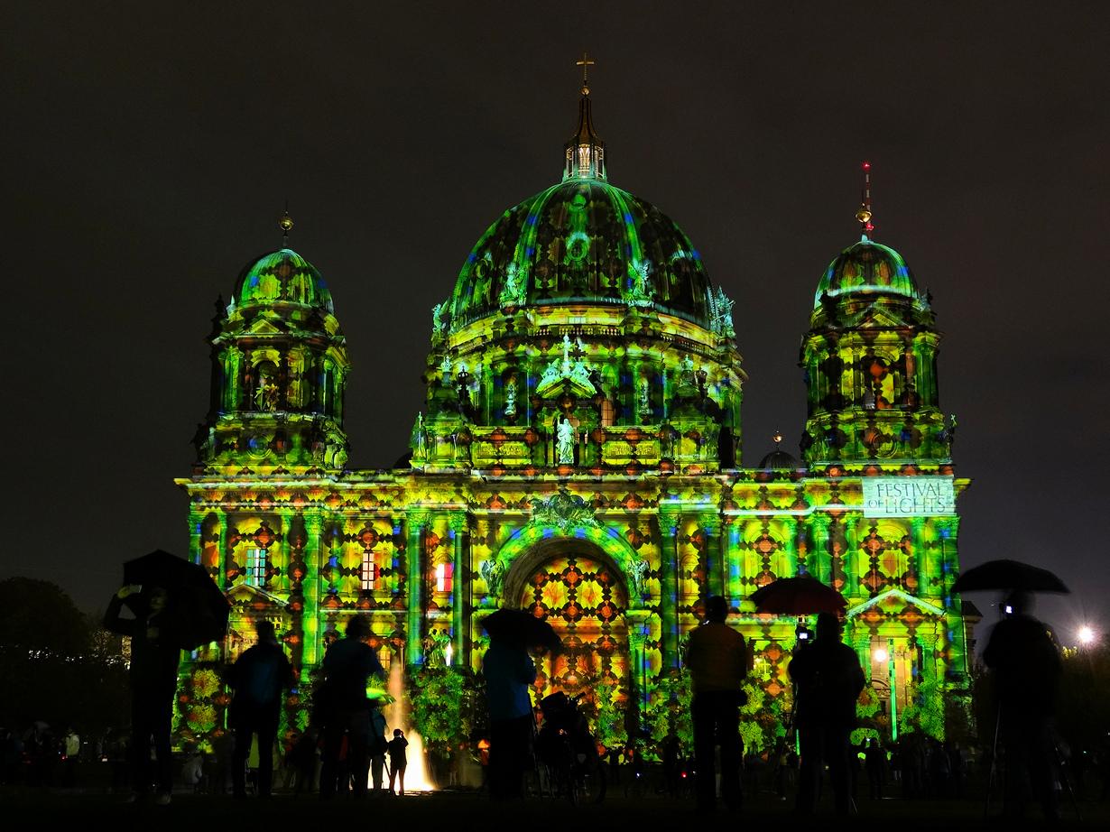Фестиваль света 2014 в Берлине (10 фото)