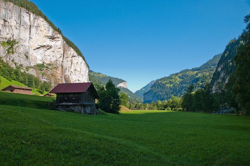 Прогулки по Швейцарии. Трюммельбахский водопад