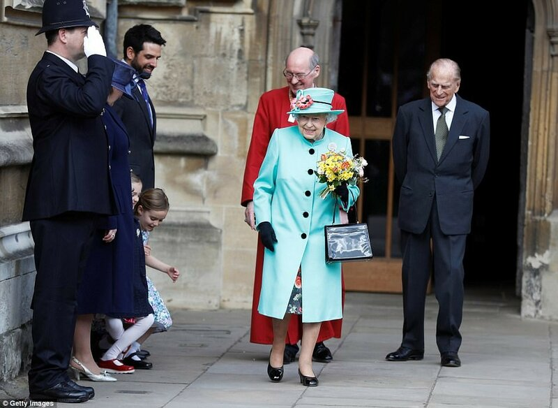 Royal Family Attend Easter Day Service Windsor