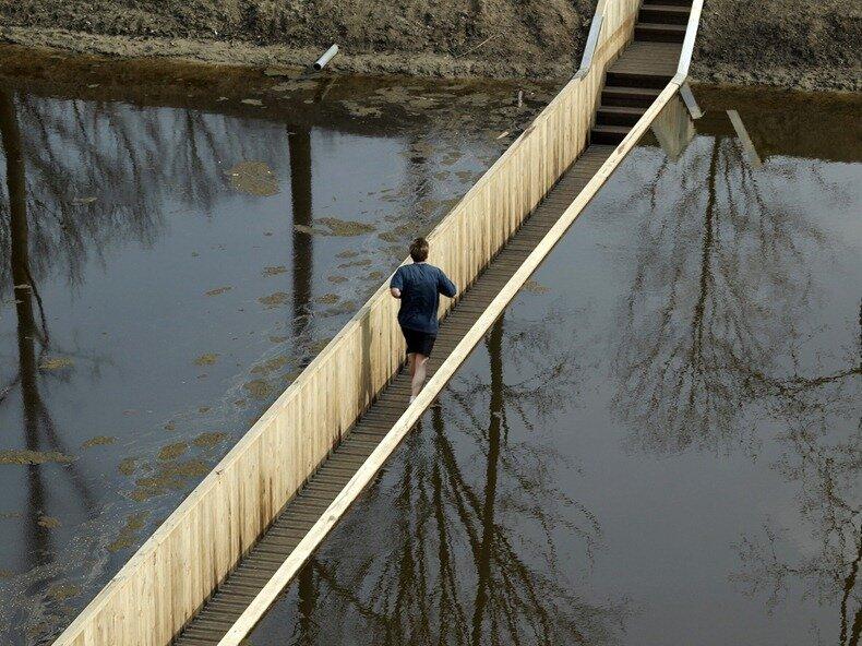 необычный мост