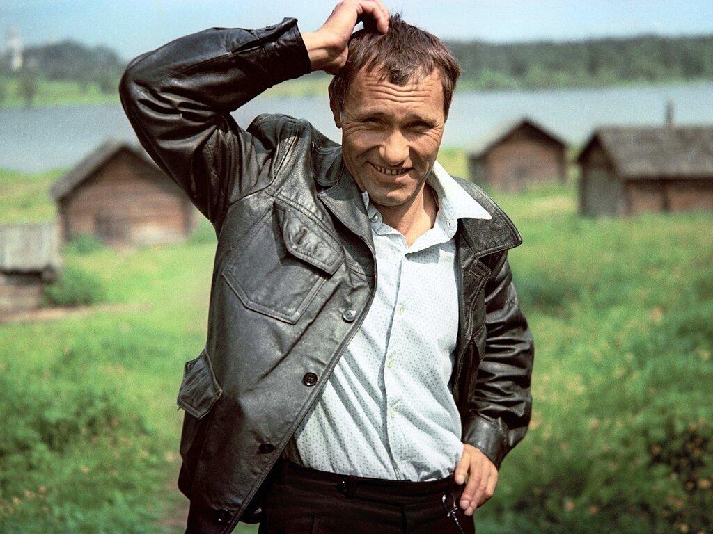 фото деревенский мужик счастью