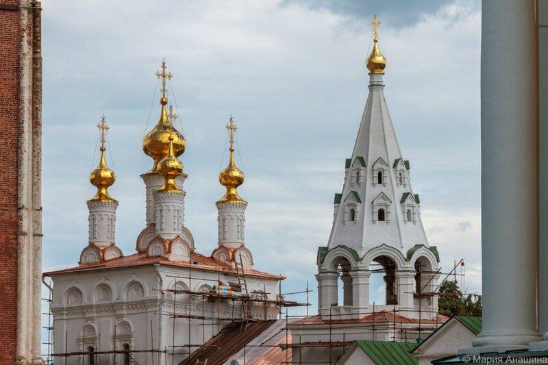 Богоявленская церковь, Рязанский кремль